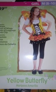 Other - Girls butterfly costume NWT